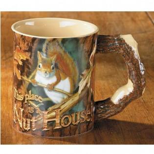 Nut House-Squirrel Mug