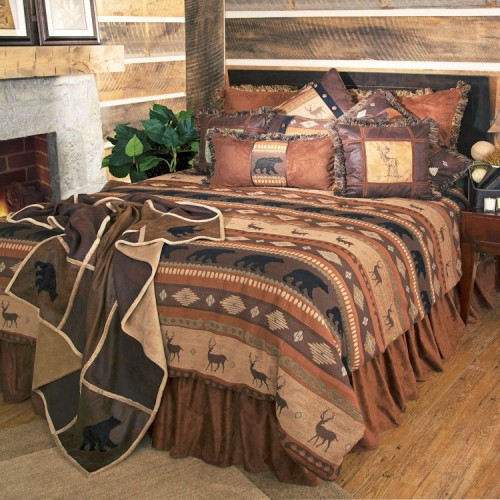 Autumn Trails Comforter Set from The Cabin Shop!
