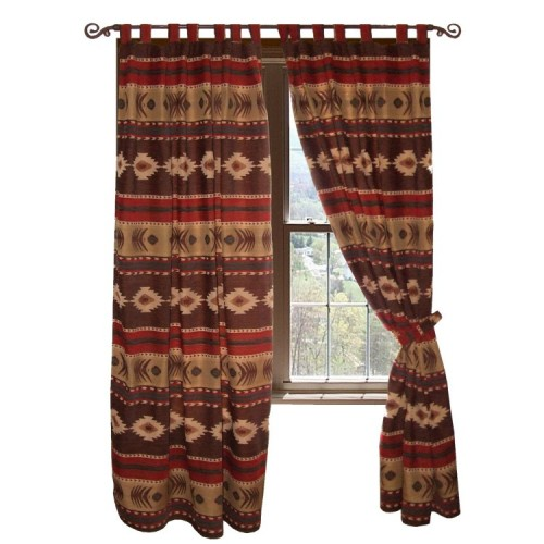 Cimarron Southwest Drapes from The Cabin Shop!