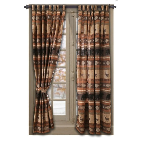 Autumn Trails Drapes from The Cabin Shop!