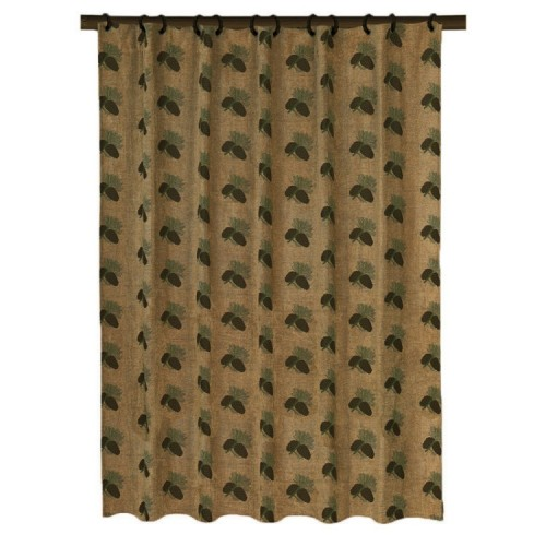 pine cone shower curtain - ShopWiki