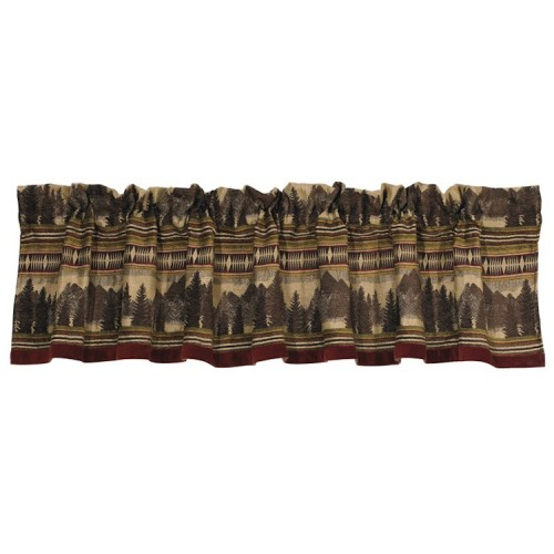 Briarcliff Mountain Valance from The Cabin Shop!
