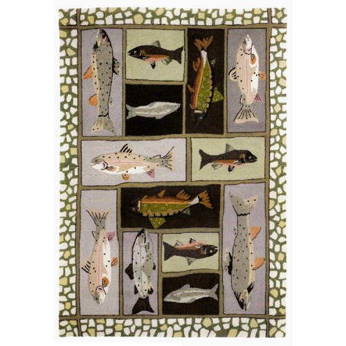 Mountain Trout Rug