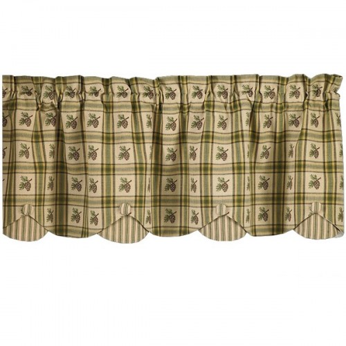 Pine Lodge Valance from The Cabin Shop!