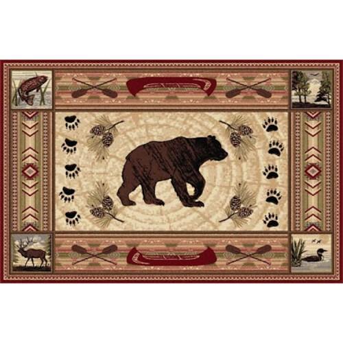 Ou River Bear Rug