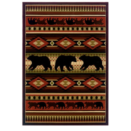 Native Bear Rug