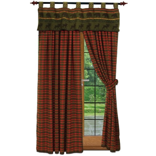 River Plaid Drapes from The Cabin Shop!