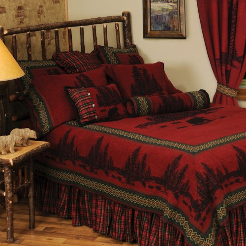 River Bear Bedding Set from Cabin Shop!