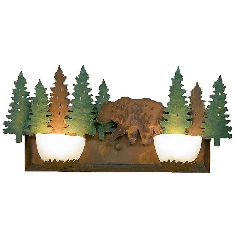 Vanity Lights Halogen : Halogen Bear Vanity Lights