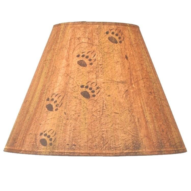 Bear Tracks Lamp Shade