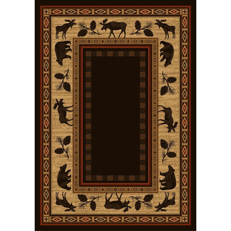 Wilderness Lodge Area Rug 5x8
