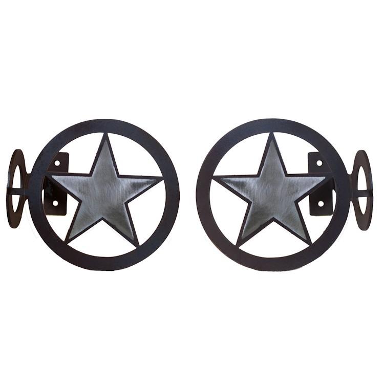 Texas Star Curtain Rod Brackets Amp Tie Backs