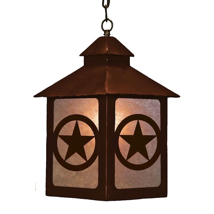 Texas Star Lantern Pendant Light