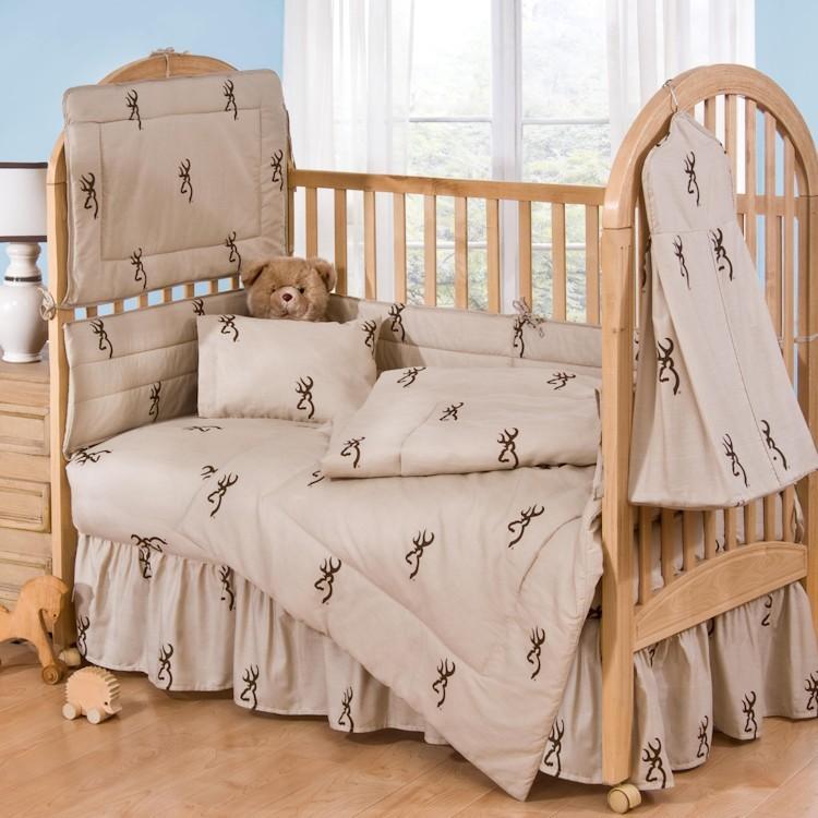Browning Buckmark Baby Crib Set
