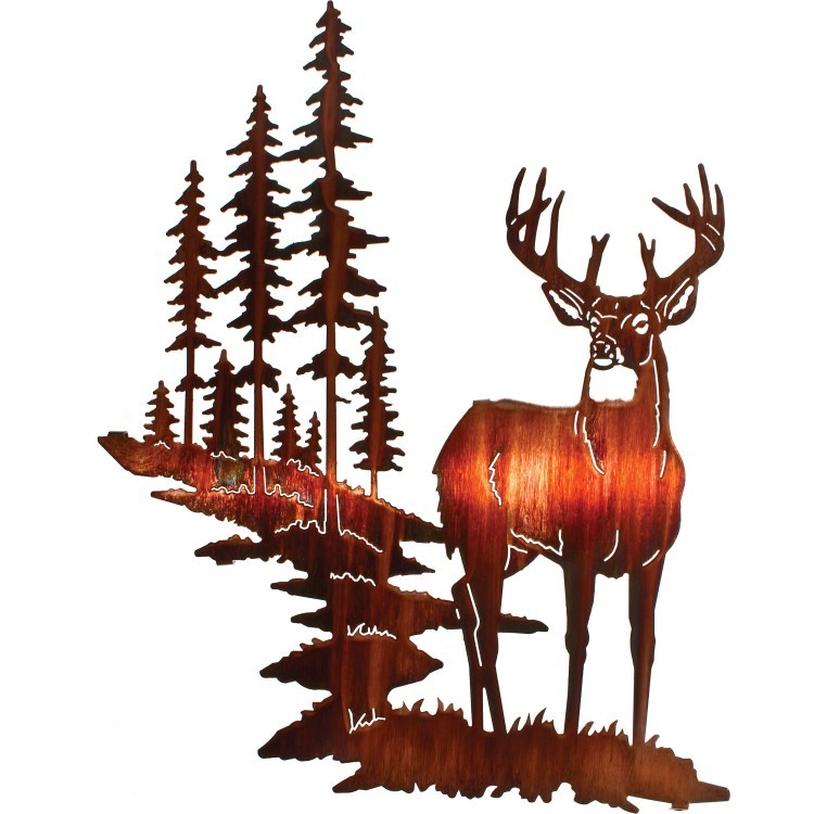 More Views. Whitetail Deer Metal Wall Art DISCONTINUED ...