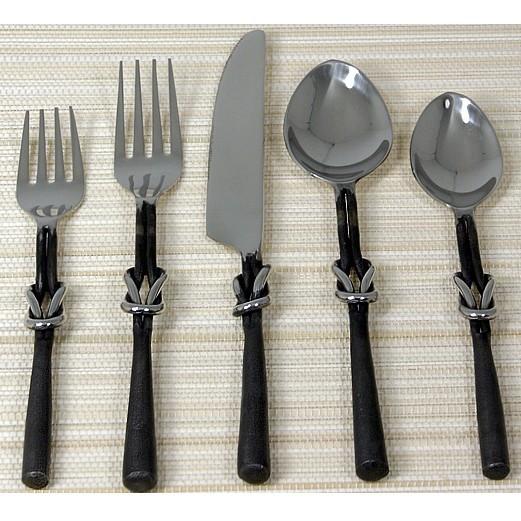 Western knot flatware - Wrought iron silverware ...