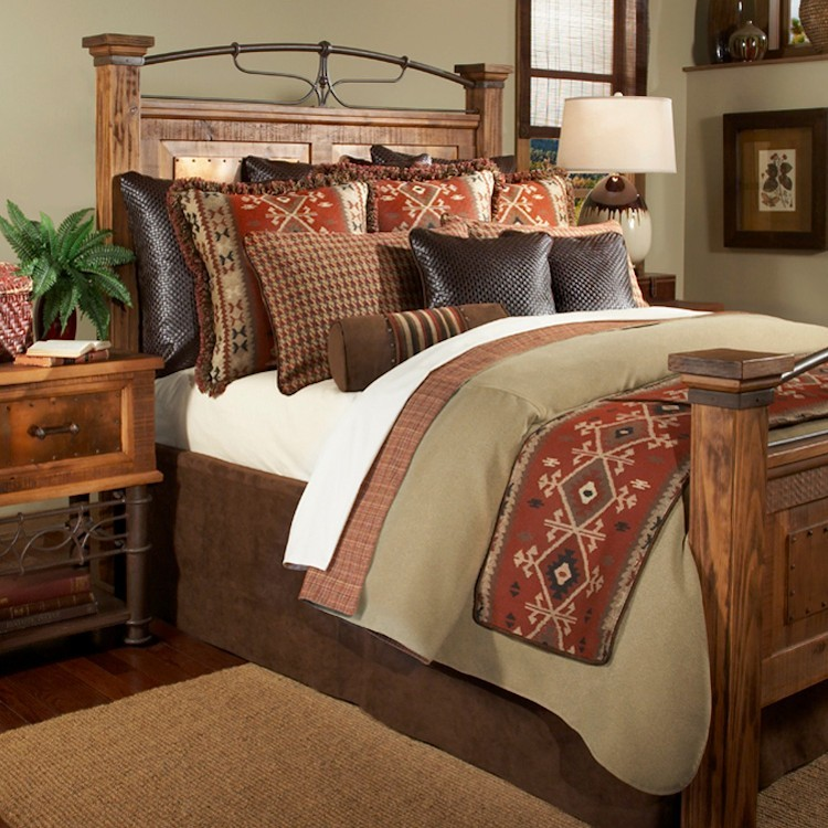 Oro valley coverlet sets for Western style beds