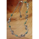 Circle of Twigs Necklace-CLEARANCE