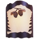 Pinecone Sconce