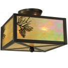 Balsam Pine Flush Mount Ceiling Light