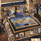 Midnight Bear Quilt Collection