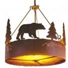 Bear Chandelier