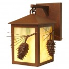 Ponderosa Pine Small Hanging Sconce