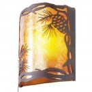 Timber Ridge Pine Cone Sconce