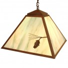 Ponderosa Pine Swag Pendant Light