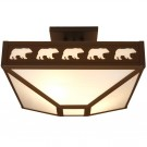 Band of Bear Drop Ceiling Mount
