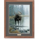 Quiet Water-Moose Print