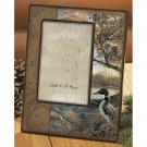 Hidden Point Scenic Loon Picture Frame