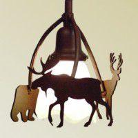 Wildlife Pendant Light