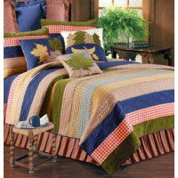 Lodge Living Twin Quilt Set-CLEARANCE