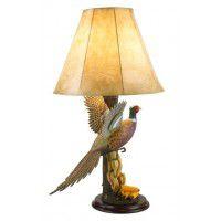 Flying Pheasant Lamp