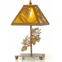 Pine Cone Table Lamp