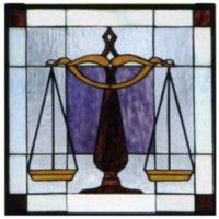 Legal Stained Glass Window