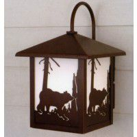 Yellowstone Bear Outdoor Lantern