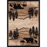 Mountain Shadow Bear Rugs