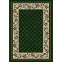 Evergreen in Pine Area Rugs