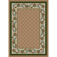 Evergreen in Sandstone Area Rugs