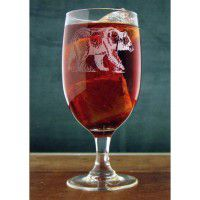 Etched Ice Tea/Water Goblet - Set of 12