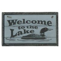 Welcome to the Lake Signs