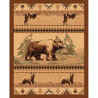 Wyoming Bear Trail Area Rug