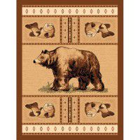 Grizzly Bear Pass Area Rug