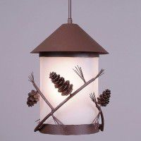 Vista Pine Cone Pendant Light
