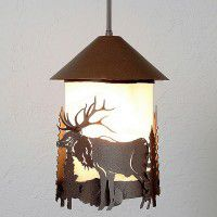 Vista Elk Pendant Light