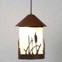 Vista Cattail Pendant Light