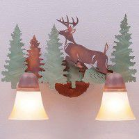 Lakeside Vanity Lights - Deer - 3 Sizes Available