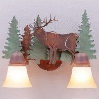 Lakeside Vanity Lights - Elk - 3 Sizes Available
